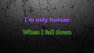 Christina Perri - Human (Karaoke/Instrumental) with lyrics Singalong  [Official Video]