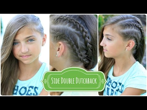 How to Create a Double Dutchback | Heidi Klum Hairstyles