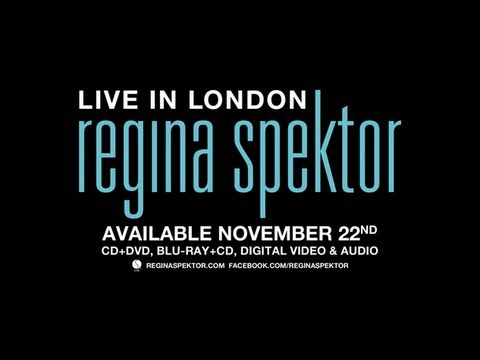 Regina Spektor - Live In London Trailer (Video)