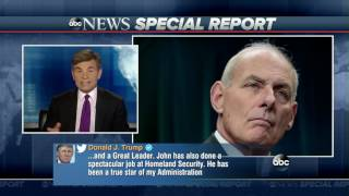 Kelly was previously serving as secretary of homeland security.SUBSCRIBE to ABC NEWS: https://www.youtube.com/ABCNews/Watch More on http://abcnews.go.com/LIKE ABC News on FACEBOOKhttps://www.facebook.com/abcnewsFOLLOW ABC News on TWITTER:https://twitter.com/abcGOOD MORNING AMERICA'S HOMEPAGE:https://gma.yahoo.com/
