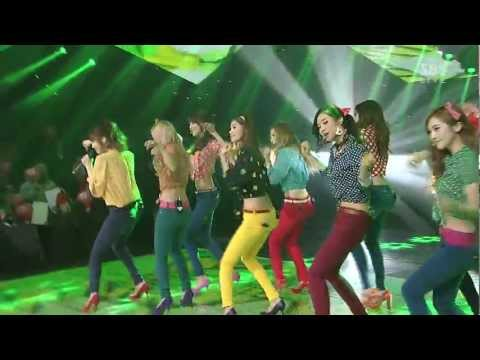 SNSD – Dancing Queen (Jan 6, 2013)