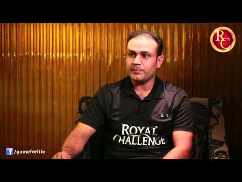 Sehwag on his 100th Test
