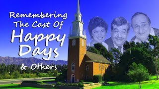 Video FAMOUS GRAVES: Remembering The Cast Of HAPPY DAYS--Tom Bosley, Erin Moran, Garry Marshall & Others MP3, 3GP, MP4, WEBM, AVI, FLV Desember 2018
