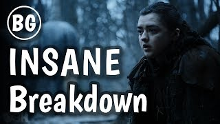I dig deep to find every detail in every single clip for this INSANE Breakdown for the Game of Thrones Season 7 Official Trailer recently released. ----- SUPPORT THE CHANNEL!!! -----Patreon - http://bit.ly/1OghO0JBecause Geek merch! - http://shrsl.com/?~c4o0Amazon US - http://amzn.to/1TvaoIyAmacon CA - http://amzn.to/1VLY1xZShop on Massdrop! - http://bit.ly/2rNL8HZ----- OTHER VIDEOS -----GoT S7 Plot Sleuthing Playlist - https://www.youtube.com/playlist?list=PLjDVHKSa1WjPGniirtgyPOV86nVMXYhw4Got S7 Trailer Reaction - https://youtu.be/ckItxaXu-SoGoT S7 Promo Breakdown - https://youtu.be/5MJ75DhJx-UGoT S7 Predictions - https://youtu.be/G5t4X0ole5Y----- MUSIC -----Background Music - http://tinyurl.com/zg9y3bb----- FEATURED ARTISTS -----Arya and Nymeriahttp://monsterling.deviantart.com/art/Arya-Stark-and-Nymeria-373086996Highgardenhttp://www.tednasmith.com/----- CONNECT WITH ME -----Twitter - https://twitter.com/BecauseVal_Facebook - https://www.facebook.com/BecauseGeekInstagram - https://instagram.com/becausegeekSnapchat - becausevalWebsite - http://becausegeek.comGaming Channel - https://www.youtube.com/user/valkarii