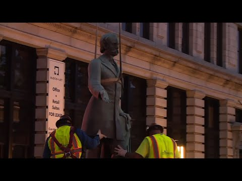 Raw: Lexington, KY Moves 2 Confederate Statues