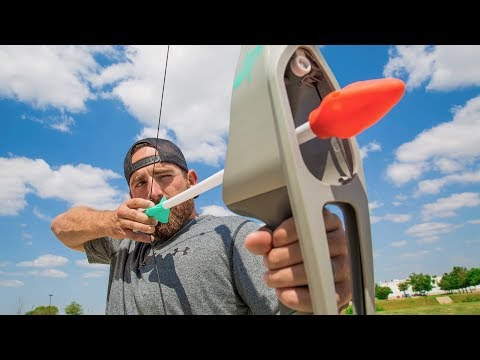 Video Nerf Bow Trick Shots | Dude Perfect download in MP3, 3GP, MP4, WEBM, AVI, FLV January 2017