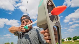 Nerf Bow Trick Shots | Dude Perfect