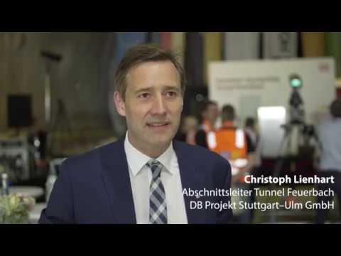 Bahn feiert Durchschlag im Tunnel Feuerbach