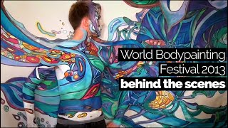 World Bodypainting Festival 2013 - behind the scenes