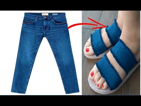RECICLAR JEANS Y TRANSFORMAR ROPA VIEJA - DIY: REUSE/ RECICLE OLD JEANS - TRANSFORM YOUR CLOTHES