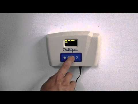 Culligan HE Water Softener Remote Bypass video poster