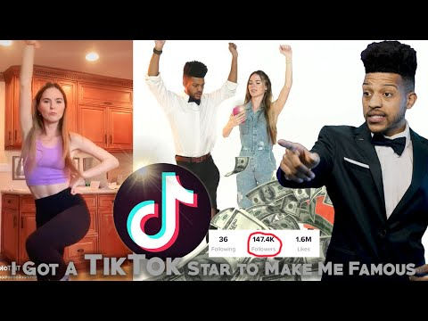 I Got A Tik Tok Star To Make Me Famous видео
