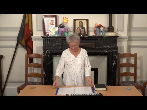CDS Paris, 20 septembre 2018: Hélène Sejournet - Mémorisation de l'évangile