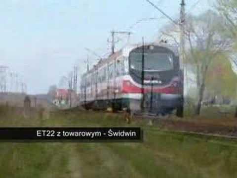 Film przedstawiający różne pociągi ( Rp1 )