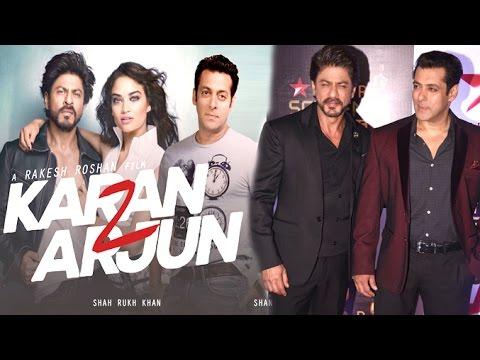 Video Salman & Shahrukh Khan Announce Making of Karan Arjun 2 Movie download in MP3, 3GP, MP4, WEBM, AVI, FLV January 2017