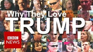 Video Donald Trump: 50 supporters explain why they love him - BBC News MP3, 3GP, MP4, WEBM, AVI, FLV April 2019