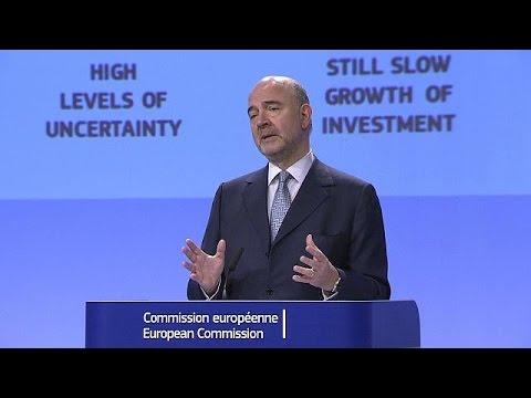 Ανάπτυξη σε ΕΕ και Ευρωζώνη υπό το φόβο των διεθνών πολιτικών αλλαγών