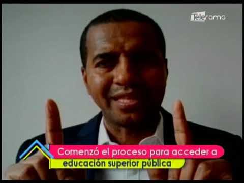 Comenzó el proceso para acceder a educación superior pública