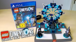 LEGO DIMENSIONS STARTER PACK UNBOXING!!! (LEGO Set No. 71171)