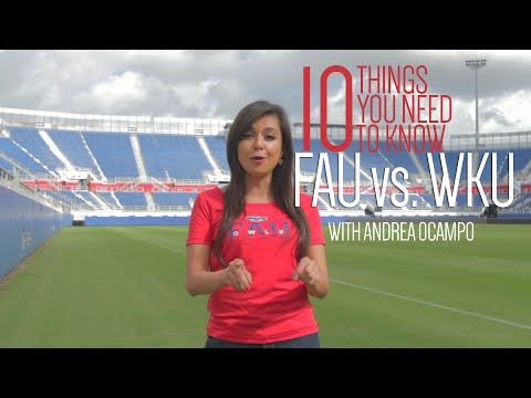 10 Things You Need To Know about FAU vs. WKU