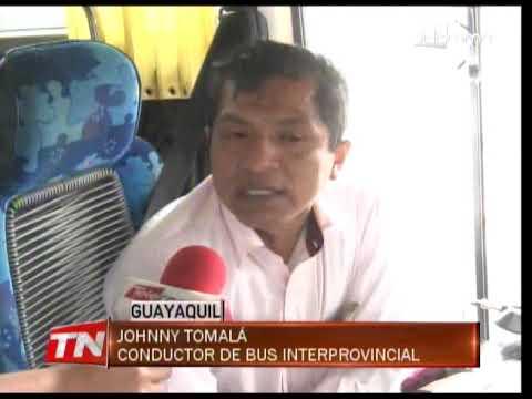 Pocos buses operan en la terminal terrestre de Guayaquil