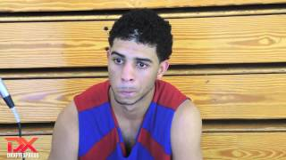 Josh Perkins 2013 Pangos All-American Camp Interview
