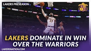 Lakers Nation Podcasts: Lakers Dominate In Preseason Win Over The Warriors by Lakers Nation