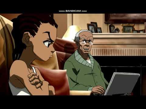 The Boondocks Season 2 Grandad's Chain Story Moments Part 1