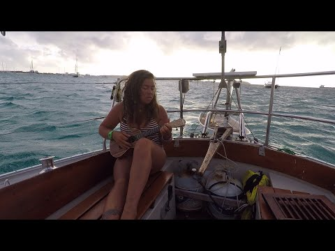 E3: I Sail Solo from St. John to St. Martin, Experiencing Lightning and  Strong Headwinds