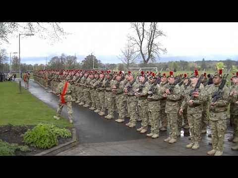Black Watch Sergeant Major