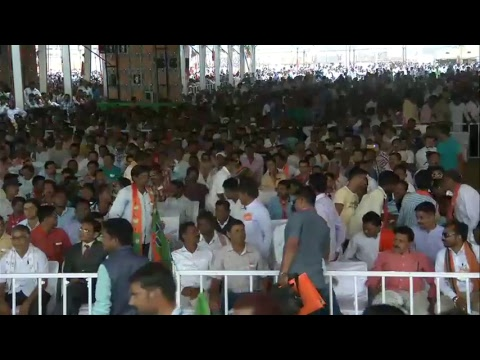 Shri Amit Shah addresses public meeting in Bhawanipatna, Odisha : 04.04.2018