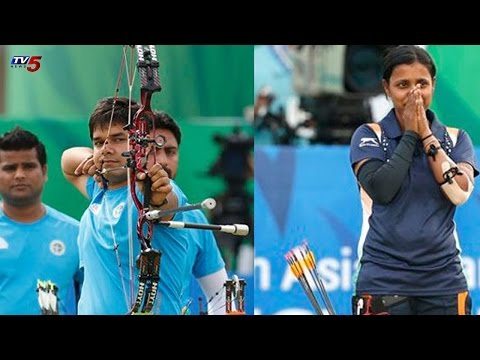 Bronze To Trisha Dev & Silver To Abhishek Verma | Compound Individual | Asian Games : TV5 News