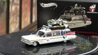 Hot Wheels Cult Classics Ghostbusters 1/43 Scale Ecto-1A Die-Cast Unboxing