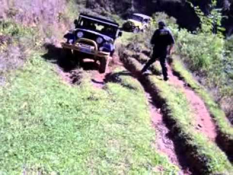 Trilha de Jeep em Piau