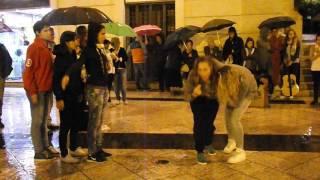 Evangelizzazione in piazza a Matera.