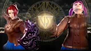 Soul Calibur VI DDLC Monika vs Buffsuki