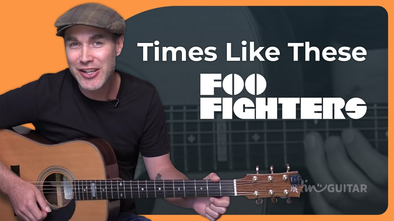 How to play Times Like These – Foo Fighters Acoustic Beginners (Songs Guitar Lesson BS-990)
