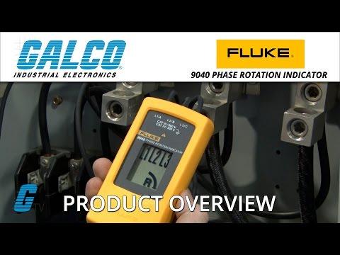 Fluke 9040 Series Phase Rotation Indicator