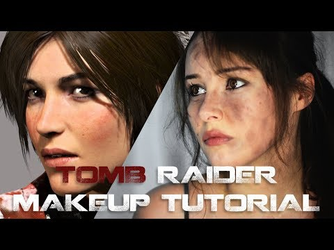Lara Croft - Cosplay Makeup Tutorial