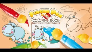 Coloring book FingerPen  YouTube video