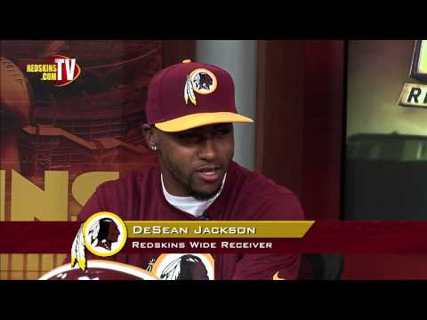 Desean Jackson - WR DeSean Jackson signs with the Washington Redskins and then joins host Larry Michael on a special segment of Redskins Nation.