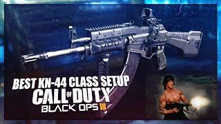 """How To Make """"OVERPOWERED KN-44"""" in BLACK OPS 3 - COD BO3 Best KN44 Class Setup - OVERPOWERED Guns Link to..."""