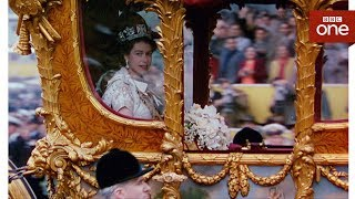 Video How comfortable is the queen's carriage? - The Coronation - BBC One MP3, 3GP, MP4, WEBM, AVI, FLV April 2018