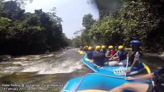 Kampar Malaysia  city images : White Water Rafting @ Sungai Kampar, Perak, Malaysia 14 February 2015