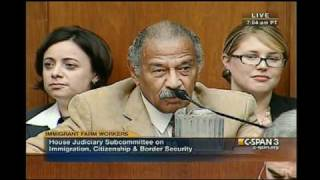 Dem Rep. John Conyers Asks Comedian Stephen Colbert to Leave the Hearing Room