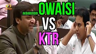 Video Akbaruddin Owaisi Vs KTR | Give Respect and Take Respect | Telangana Assembly Session | Mango News MP3, 3GP, MP4, WEBM, AVI, FLV April 2018