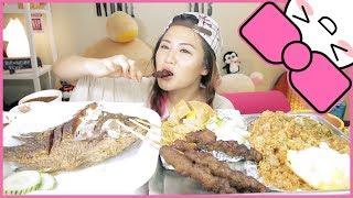 Video INDONESIAN FOOD (Nasi Goreng, Pork Satay, Ikan, Beef Rendang, Pempek Palembang) | MUKBANG [먹방] MP3, 3GP, MP4, WEBM, AVI, FLV Mei 2018