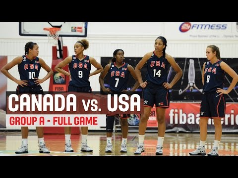 canada - The 2014 FIBA Americas Championship U18 for Women takes place in Colorado Springs, CO - USA, from August 6-10. Every game will be streamed live and for free on the FIBA YouTube channel.