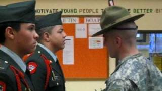 BHS JROTC Inspection