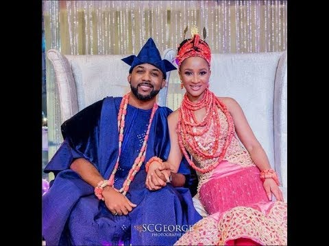 Moments From Banky W and Adesua Etomi Wedding #Baad 2017